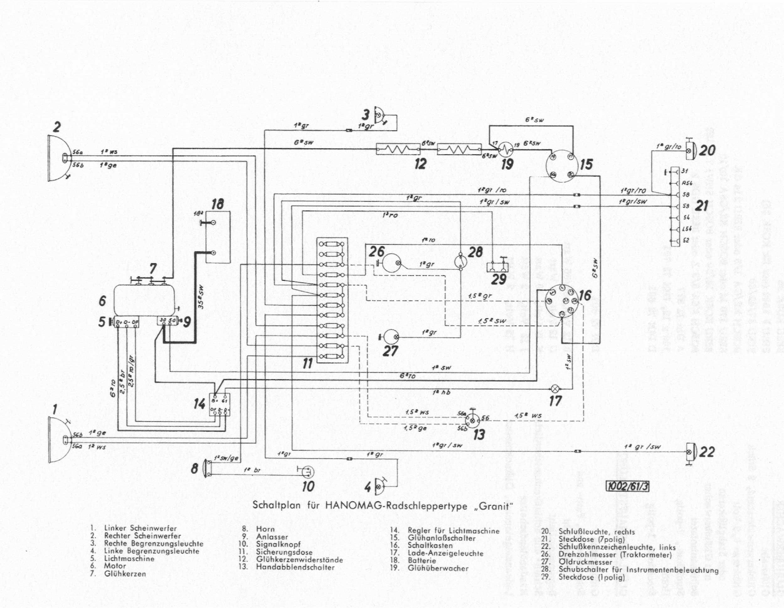 R 332 - Granit Technische Einzelheiten