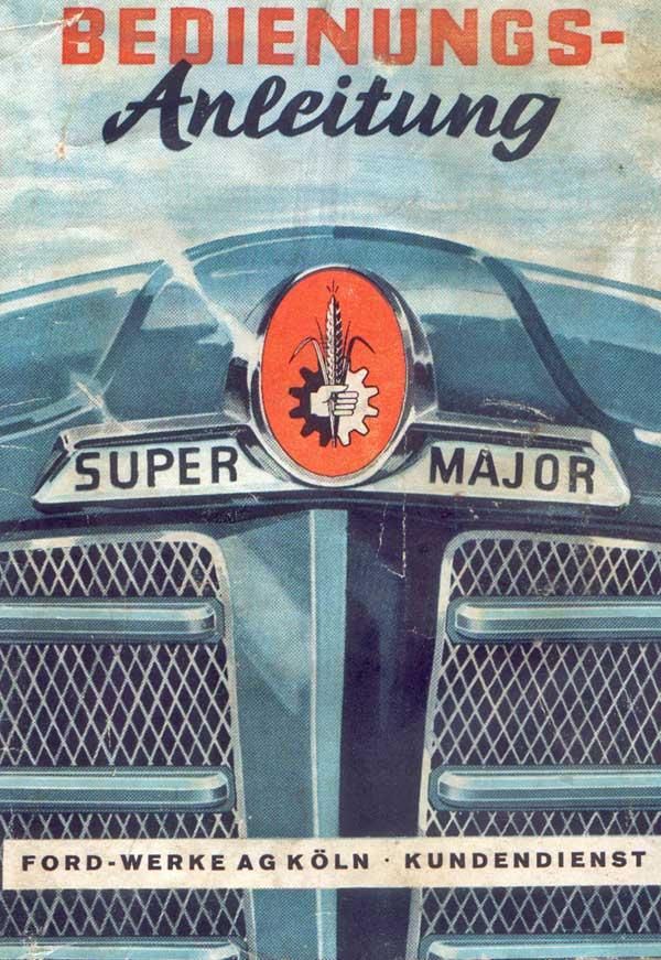 Bedienungsanleitung Fordson Super Majo r